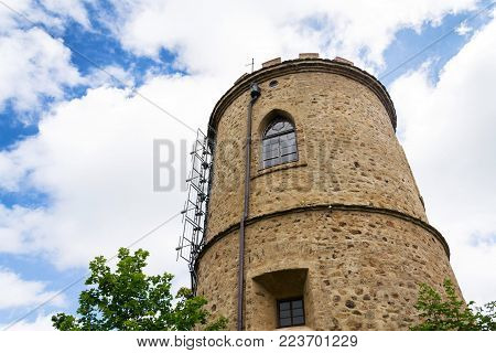 Josefs Lookout Tower At Mount Klet, Blansky Forest, Czech Republic
