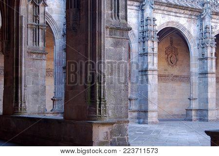 Cloister of the Cathedral - Santiago de Compostela, Galicia, Spain, 13 October 2007