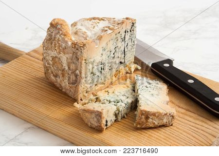 Artisanal blue cheese straight from the farm.