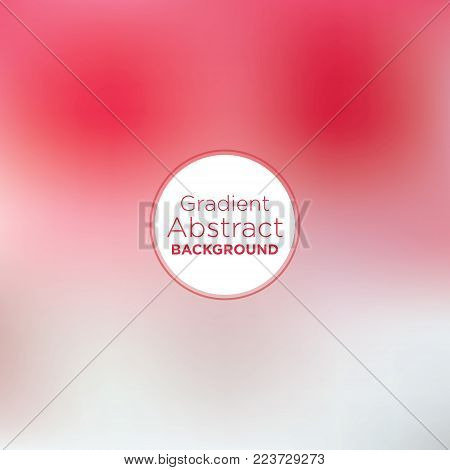 Red and white texture with baby pink dissection in an abstract gradient mesh background.
