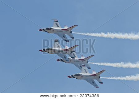 US Air Force Thunderbirds Demonstration Squadron