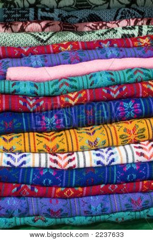 A Colorful Pile Of Shirts