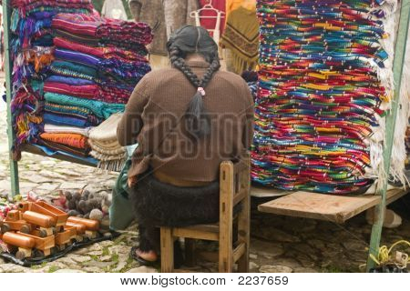 Indian On Chair