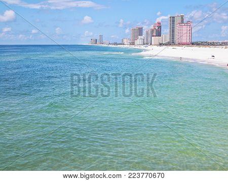 Orange Beach, Alabama on the Gulf Coast