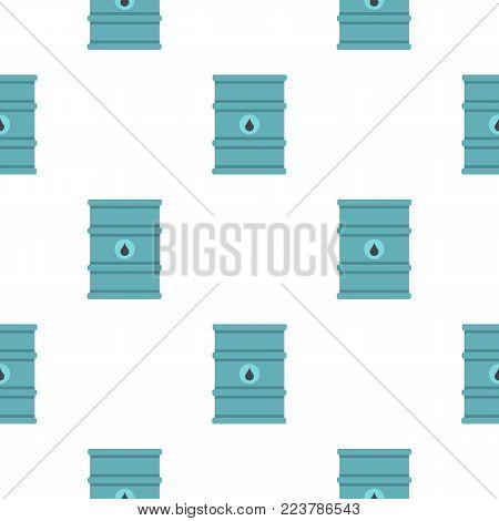 Blue oil barrel pattern seamless for any design vector illustration