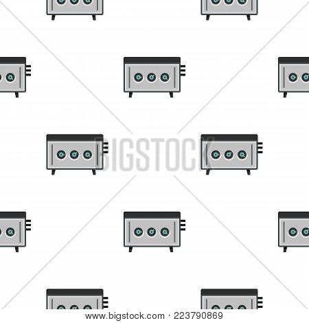 CD player pattern seamless for any design vector illustration