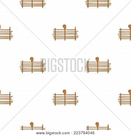 Palisade pattern seamless for any design vector illustration
