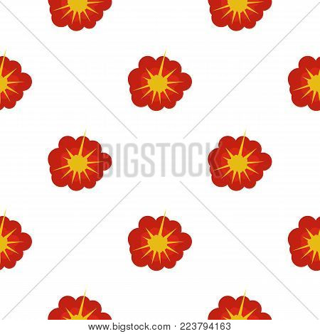 Cloudy explosion pattern seamless for any design vector illustration