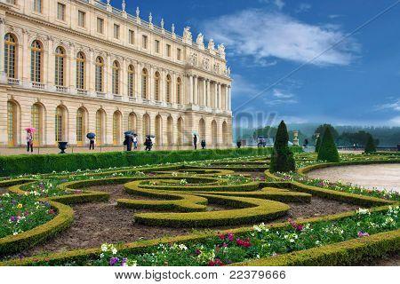 Palace De Versailles In France,  Paris