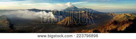 Motion Of Gunung Bromo