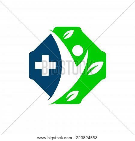 Medical logo concept. Medical logo, medical center logo, health logo, doctor logo, medicine logo, medical icon.