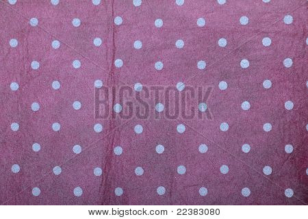 pink shaded polka dotted handmade art paper
