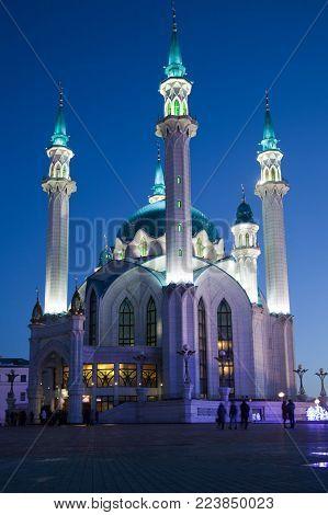 The Kul-Sharif Mosque in the Kazan Kremlin