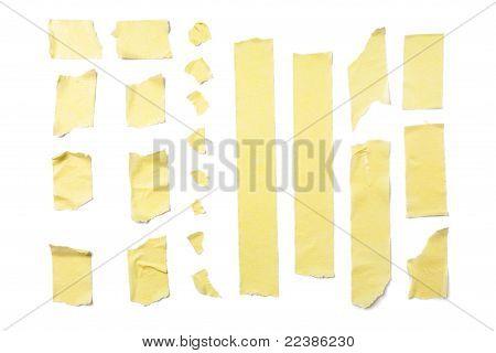Masking Tape Strips