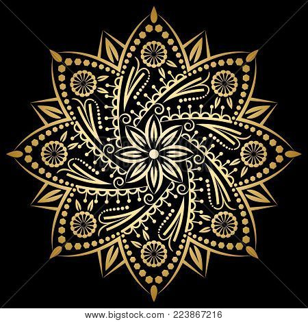 Mandala Gold, Background