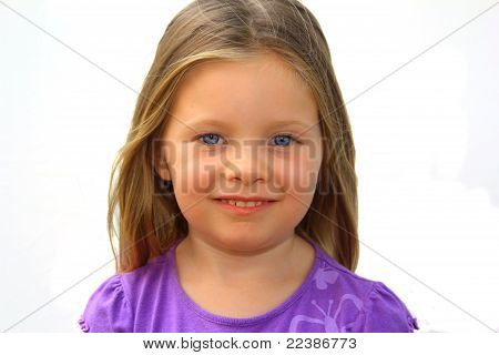 Young, Smiling Girl