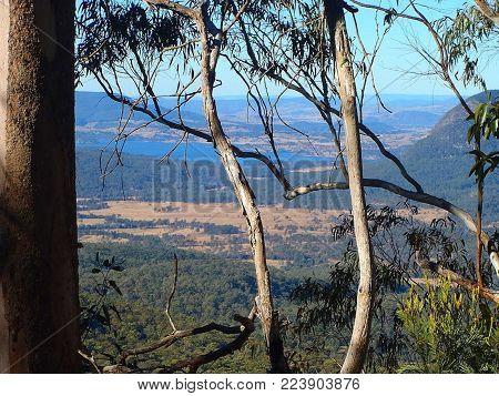 Vista from the Hinterland Gold Coast Australia