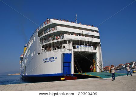 Anek lines ferry, Greece