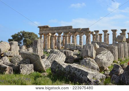 Selinunte, a beautiful and unique archaeological site, Sicily