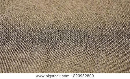 Textile Macro Of Cotton Made In A Loom