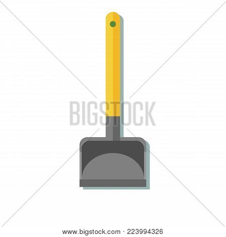 shovel icon. Stock vector illustration for poster, greeting card, website, ad, business presentation advertisement design
