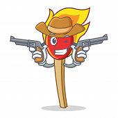 4a474188212 Man Cowboy Hat Gun. Vector   Photo (Free Trial)