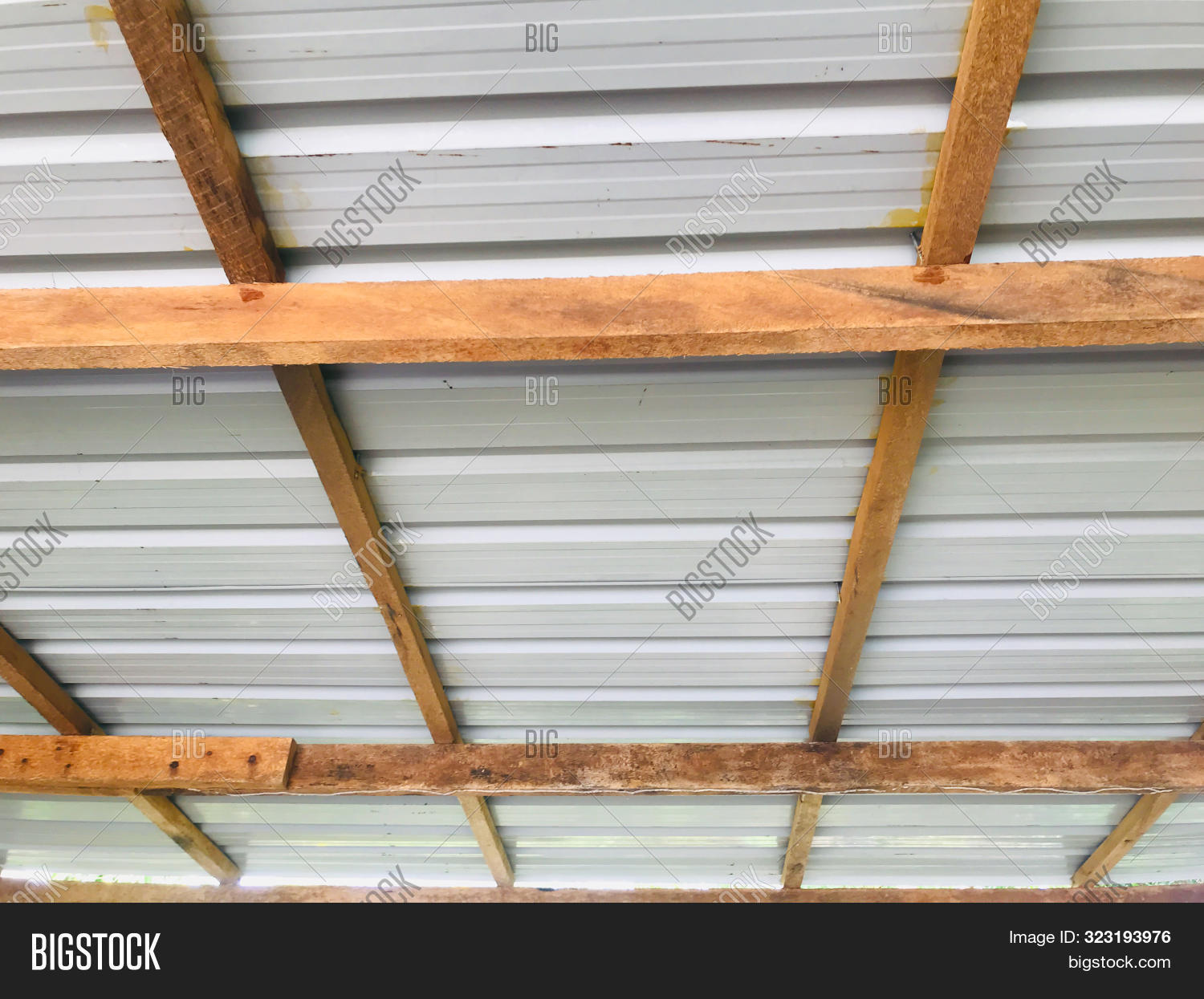 Wooden Roof Image Photo Free Trial Bigstock