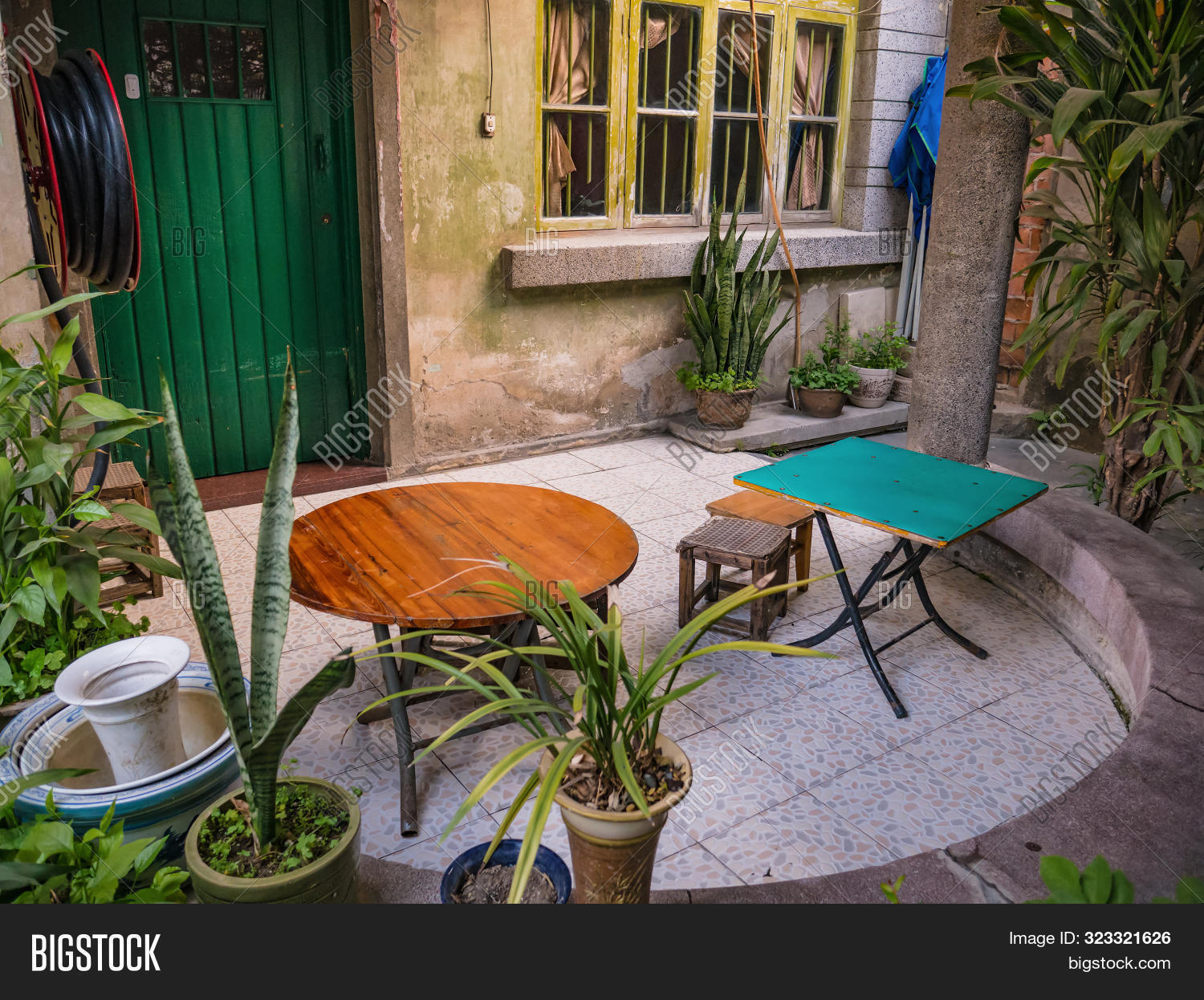 Relax Small Wooden Image Photo Free Trial Bigstock