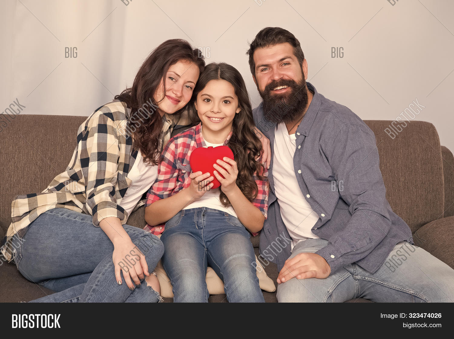 Love My Parents Image Photo Free Trial Bigstock