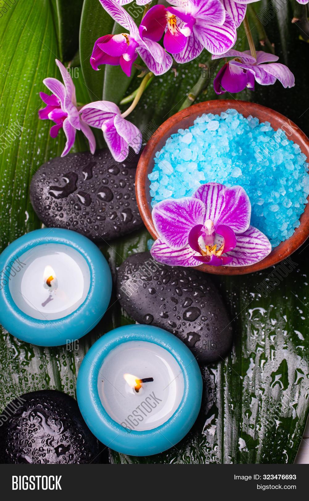 KESS InHouse Graphic Tabby Blue Beauty Teal Floral Yoga Mat 72 X 24