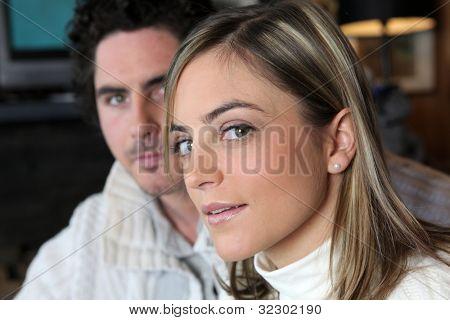 An observant woman