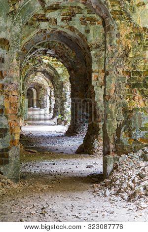 Tarakaniv ( Dubno) Ruined Fortress, Fortification. Tarakanovskiy Fort. Ukraine. Abandoned Fortress I