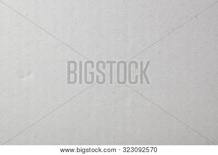 Close-up Of White Cardboard Texture Background. Stock Photos.