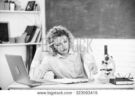 Pressure Nervous Tense. Stressful Educator. Teacher Stressful Occupation. Girl Tired Stressful Expre