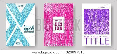 Geometric Creative Solutions. Teal Pink Purple Waves Texture Backdrops. Buzzing Rippling Motion Back