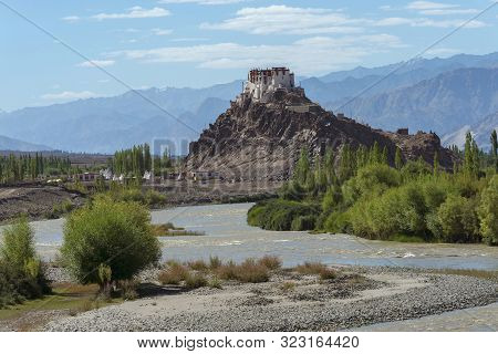 Stakna Monastery Or Stakna Gompa At Ladakh, Jammu And Kashmir, India