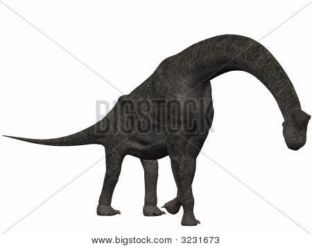 3 D Computer Render of an Dinosaur poster