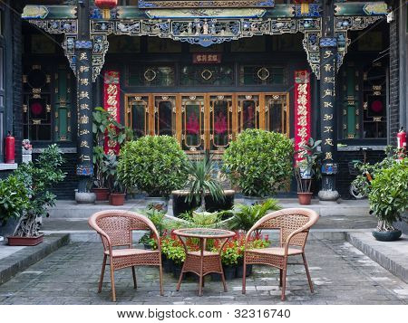 Traditional Chinese Building of old compound