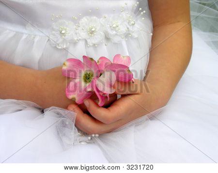 Wedding Flowers In Hands