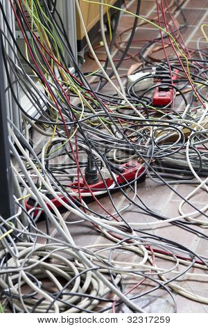 Cables  in laboratory