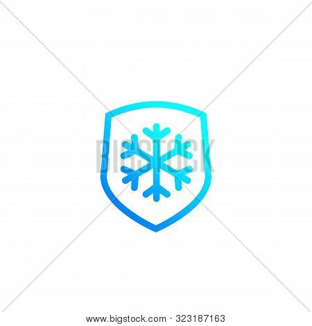Frost Resistant, Resistance Vector Icon, Eps 10 File, Easy To Edit