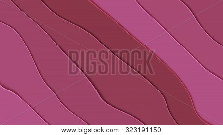 Background In Paper Style. Abstract Colored Background.