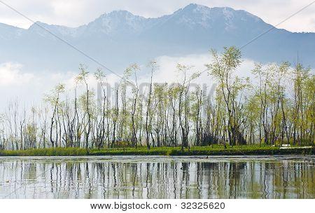 Wasser-Dorf, view Point von Srinagar