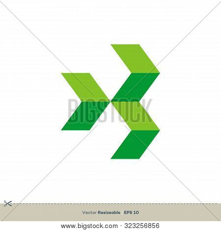 Paving Stone Tile Vector Logo Template Illustration Design. Vector Eps 10.