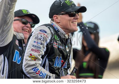 September 08, 2019 - Indianapolis, Indiana , USA: Kevin Harvick (4) wins the Big Machine Vodka 400 at the Brickyard at Indianapolis Motor Speedway in Indianapolis, Indiana .