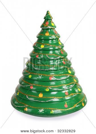 Christmas tree roly-poly toy decoration
