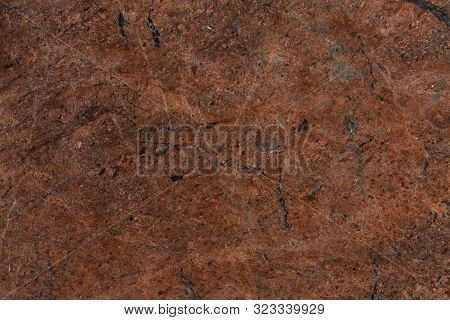 Red Granite Texture Background. Can Be Used For Web Templates, Artworks.