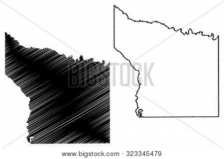 Smith County, Texas (Counties in Texas, United States of America,USA, U.S., US) map vector illustration, scribble sketch Smith map poster