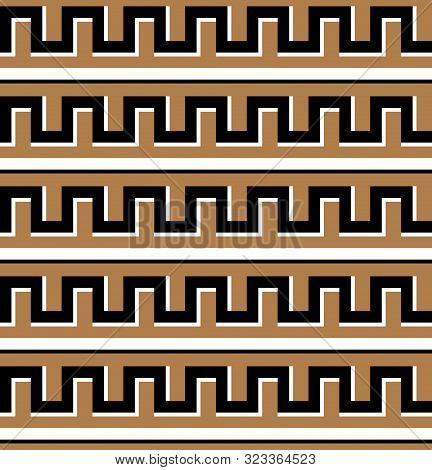 Greek Key Design. Seamless Greek Texture Pattern.