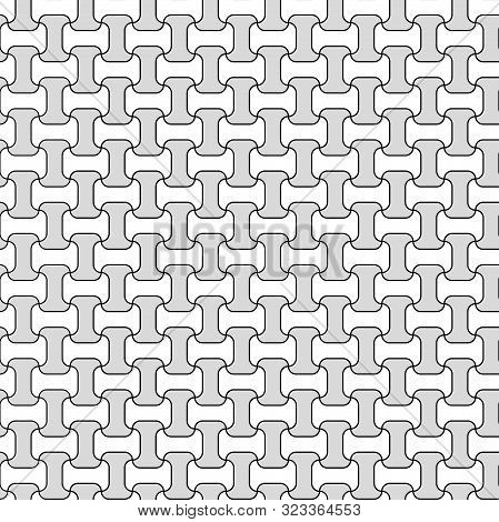 Chain Grid Art Pattern Texture Seamless Vector